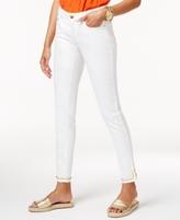 MICHAEL Michael Kors Petite Studded Skinny Jeans