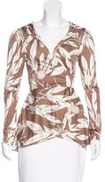 Mara Hoffman Silk Printed Top