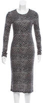 Derek Lam 10 Crosby Printed Midi Dress