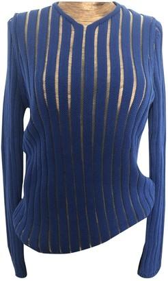 Philipp Plein Blue Cotton Knitwear for Women