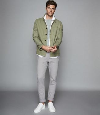 Reiss Spruce - Slim Fit Jeans in Light Grey