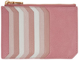 Miu Miu Pink Multi Card Zip Pouch