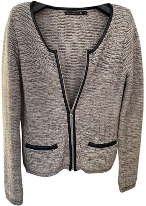 Berenice Grey Cotton Knitwear for Women