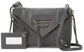 Balenciaga Papier Triple XS Leather Zip Around Crossbody