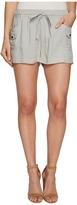 BB Dakota Mosby Rayon Twill Cargo Shorts Women's Shorts