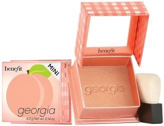Benefit Cosmetics Georgia 2.0 Golden Peach Blush Mini - Colour Peach