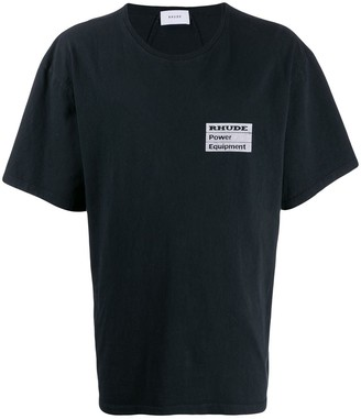Rhude chest logo T-shirt