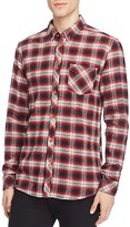 Wesc Oliver Slim Fit Flannel Button Down Shirt