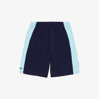 Lacoste Men's SPORT Miami Open Colorblock Fleece Shorts