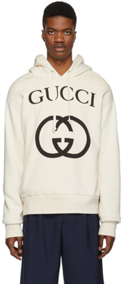Gucci Off-White Interlocking G Hoodie