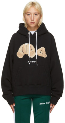 Palm Angels Black Bear Hoodie