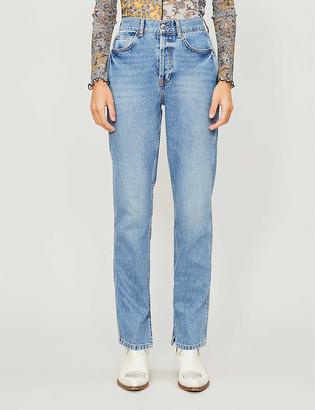 Topshop Boutique tapered denim jeans