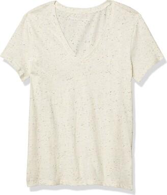Lucky Brand Women's Short Sleeve V Neck Essential Tee
