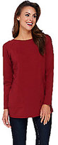 Linea by Louis Dell'Olio As Is Linea Leisure by Louis Dell'Olio Raglan Sleeve Knit Tee