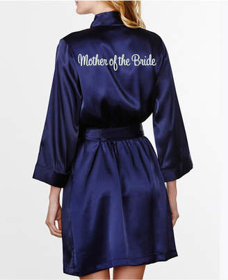 Wedding Prep Gals Embroidered 'Mother of the Bride Robe', Online Only
