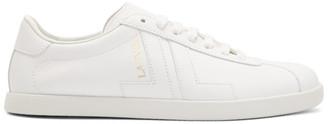 Lanvin White Glen Colorblock Sneakers