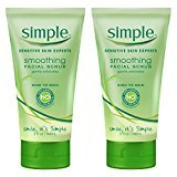 Simple Smoothing Face Scrub 5 oz, 2 Count