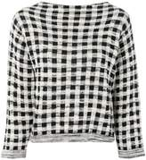 Bellerose checked jumper