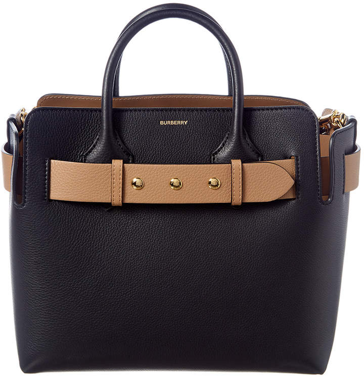 ffd5f8ebc16 Burberry Studded Leather Bag - ShopStyle