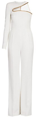 Stella McCartney Lyta All-In-One One-Sleeve Jumpsuit