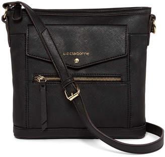Liz Claiborne Allie Flat Crossbody Bag
