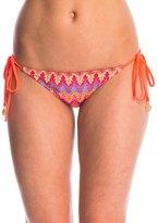 Luli Fama Swimwear Song of the Sea Brazilian Tie Side Bikini Bottom 8146804