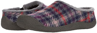 Keen Howser Slide (Black Plaid/Dark Grey) Women's Shoes