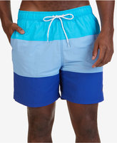 "Nautica Men's Colorblocked 7 1/2"" Swim Trunks"