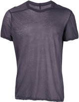 Rick Owens round neck T-shirt - men - Cotton - S