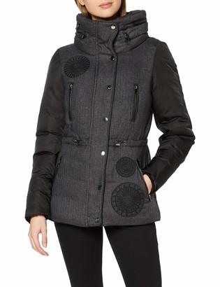 Desigual Women's ABRIG_MARLENE Long Sleeve Coat