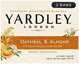 Yardley London Soap Bath Bar, Oatmeal and Almond, 8 Count
