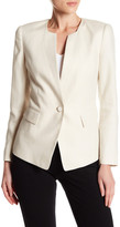 Lafayette 148 New York Lynn Linen Jacket (Petite)