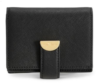 Marc Jacobs Small Coated Leather Card-Case-On-Chain