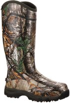 """Rocky Outdoor Boots Mens 16"""" Core WP Rubber 11 D Realtree RKYS060"""