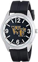 Game Time Men's COL-VAR-WF Varsity Analog Display Japanese Quartz Black Watch