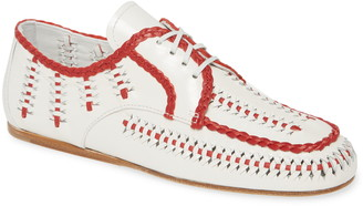 Prada Lace-Up Loafer