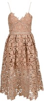 Thumbnail for your product : Self-Portrait Floral Lace Midi Dress