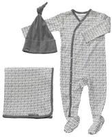 Petunia Pickle Bottom 'Snuggle' Footie, Blanket & Hat Set (Baby)