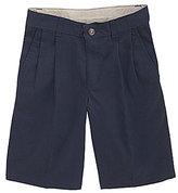 Class Club 8-20 Twill Pleated Shorts