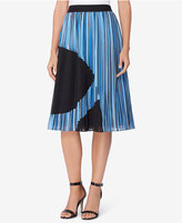 Catherine Malandrino Pleated A-Line Skirt