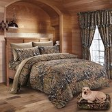 The Woods Camo Curtain & Valance 5 Piece Drape Set Forest