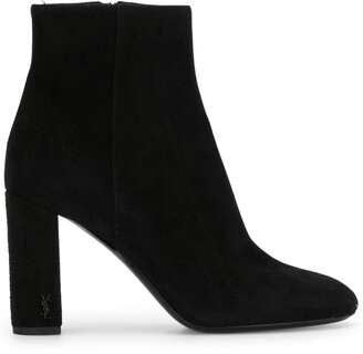 Saint Laurent Loulou 95 zip booties