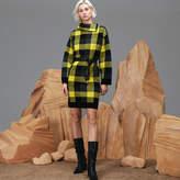Lacoste Women's Fashion Show Wool Jacquard Check Sweater