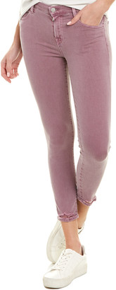 J Brand 835 Lilac Skinny Crop
