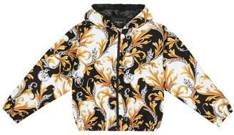 Versace Kids Barocco technical jacket