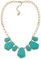 Lauren Ralph Lauren Gold-Tone Statement Necklace
