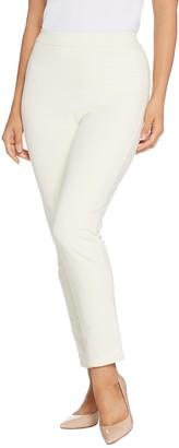 Joan Rivers Classics Collection Joan Rivers Petite Joan's Signature Ankle Pants w/ Sequin Strip