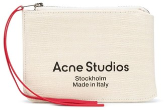 Acne Studios Logo Print Wallet