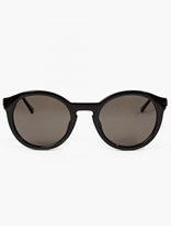 Thierry Lasry Black Acetate Zomby Sunglasses