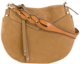Jimmy Choo Artie shoulder bag - women - Calf Leather/Suede - One Size